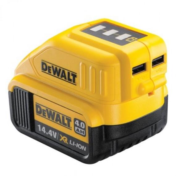 DeWalt Akku-Adapter mit USB-Anschlüssen DCB090