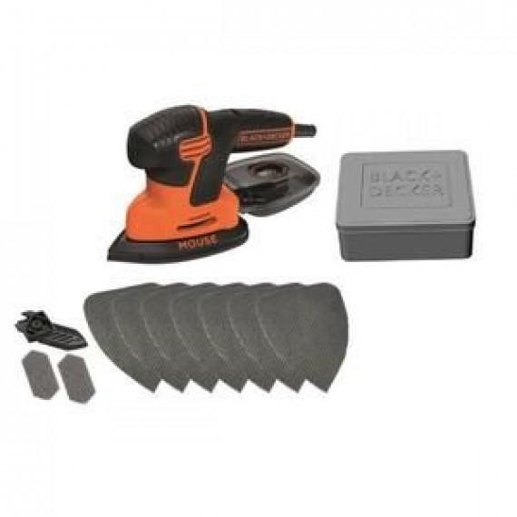 BLACK & DECKER BLACK & DECKER Ponceuse Mouse KA200AT 120 W avec accessoires