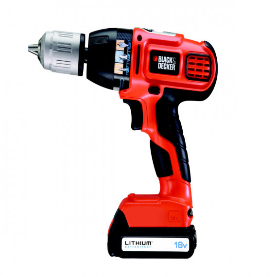 Perceuse à percussion BLACK & DECKER BL188K 18Volt