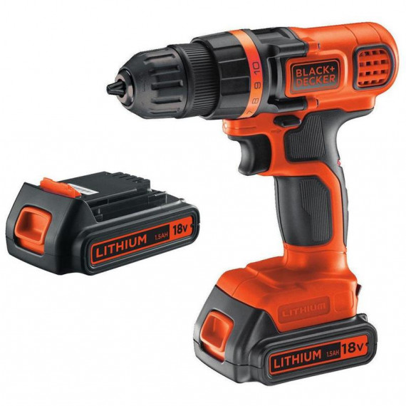 Perceuse à percussion BLACK & DECKER BL188KB 18Volt