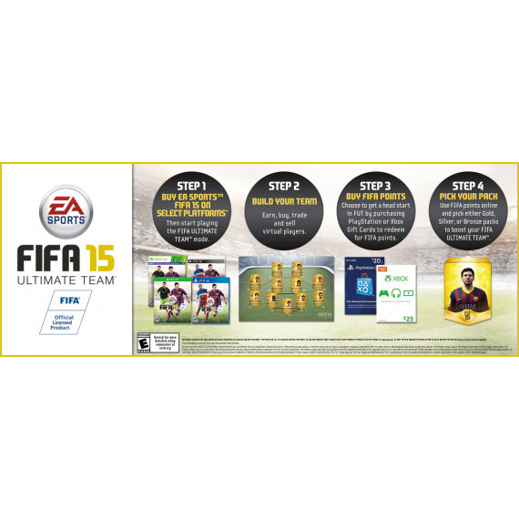 FIFA 15 (PS3) (Pré-commande - Sortie le 25 Septembre 2014)
