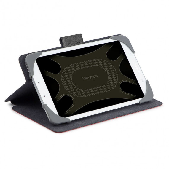 TARGUS SafeFit 7-8inch Rotating  SafeFit 7-8inch Rotating Universal Tablet Case Red