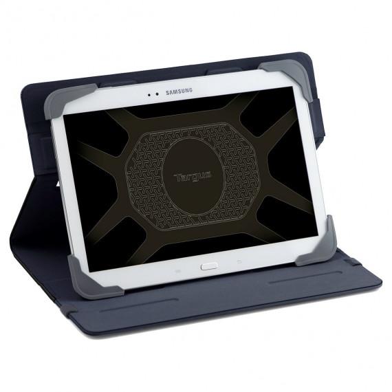 TARGUS Fit N  Grip 7-8inch Standard  Fit N  Grip 7-8inch Standard Universal Tablet Case Black