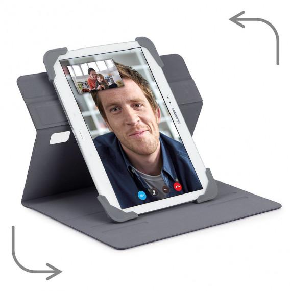TARGUS Fit N  Grip 7-8inch Rotating  Fit N  Grip 7-8inch Rotating Universal Tablet Case Grey