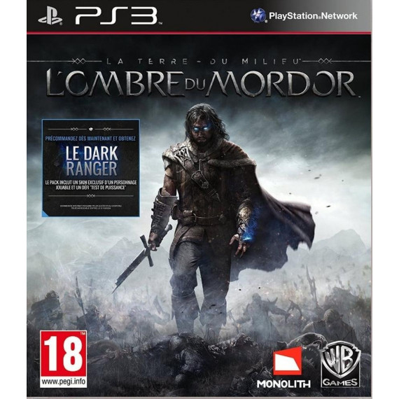 Warner Bros. Games La Terre du Milieu : L'Ombre du Mordor  (PS3)