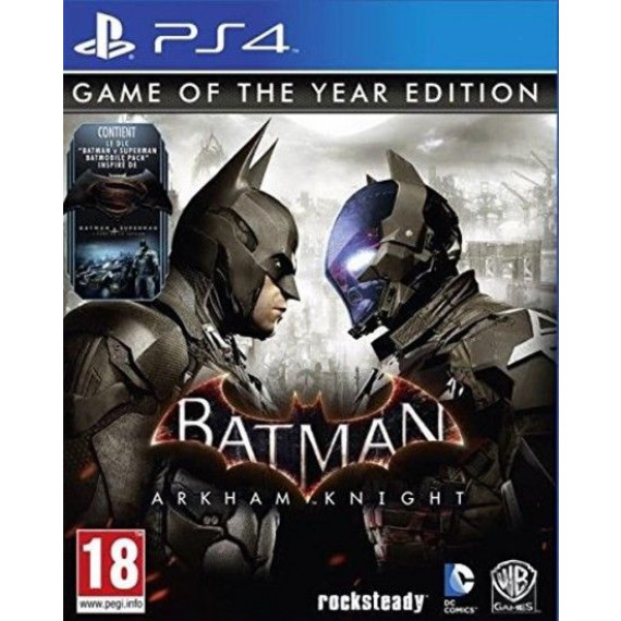 WARNER BATMAN RETURN TO ARKHAM PS4