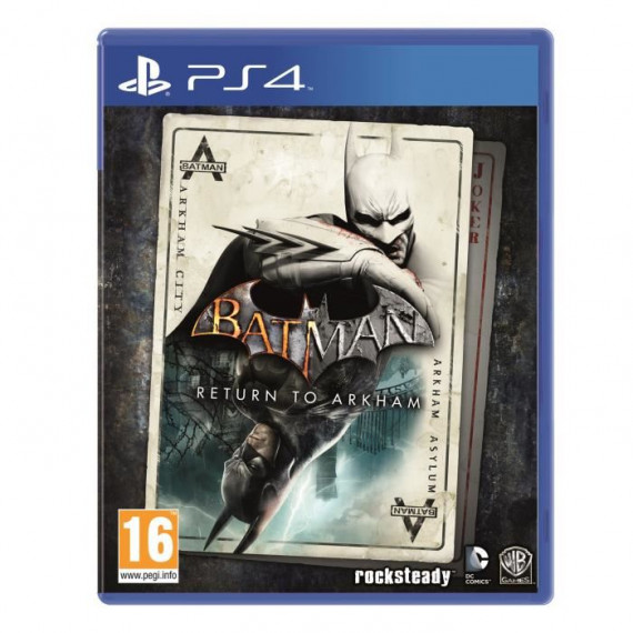 WARNER BATMAN ARKHAM KNIGHT GOTY PS4