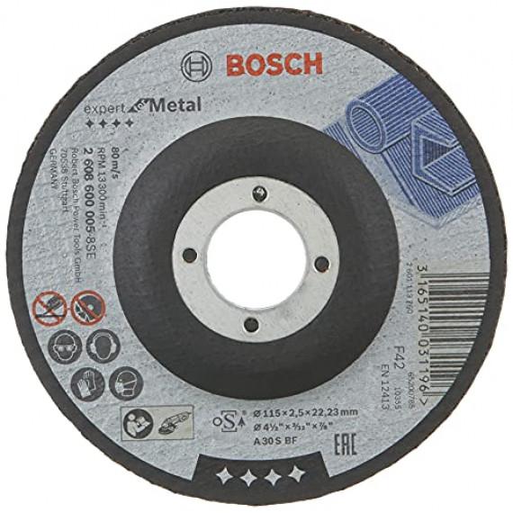 Bosch Professional Bosch 2608600005 Disque à Tronçonner à moyeu déporté expert for metal A 30 S BF 115 mm 2,5 mm