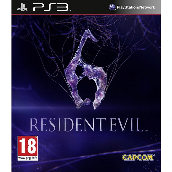JUST FOR GAMES RESIDENT EVIL 6 PS3