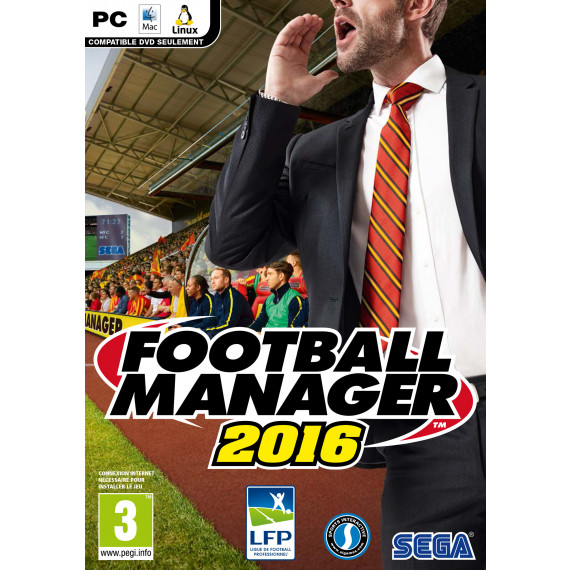Sega Football Manager 2016 (PC/MAC)