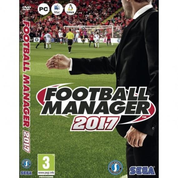 KOCH MEDIA FOOTBALL MANAGER 2017 - PC