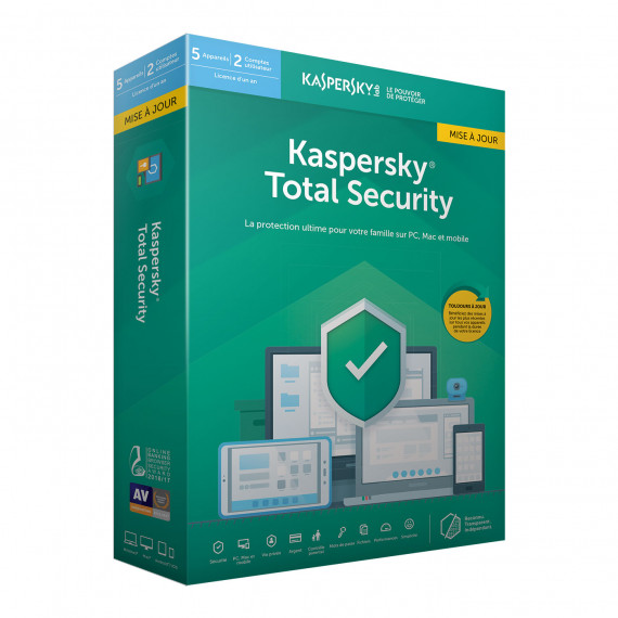 KASPERSKY Total Security 2019 Mise à jour