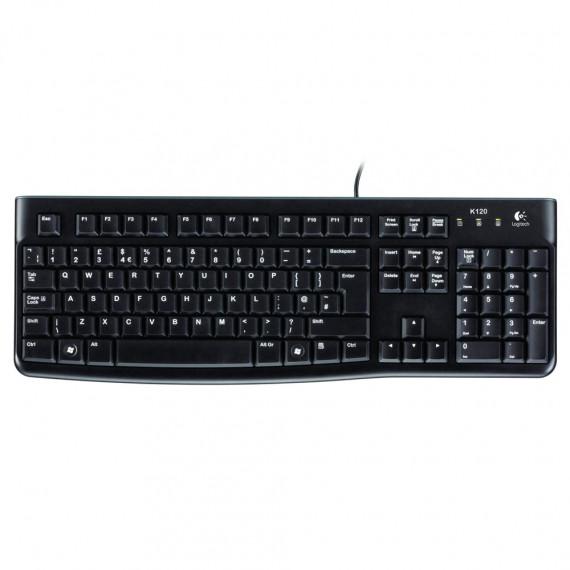 Logitech Keyboard K120 QWERTY for Business