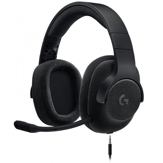Logitech G433 7.1 Surround Sound Wired Gaming Headset Noir
