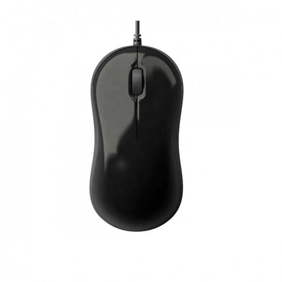 souris GIGABYTE GM-M5050 800dpi noir brillant, commerce de détail USB 3 clés optique 800 dpi