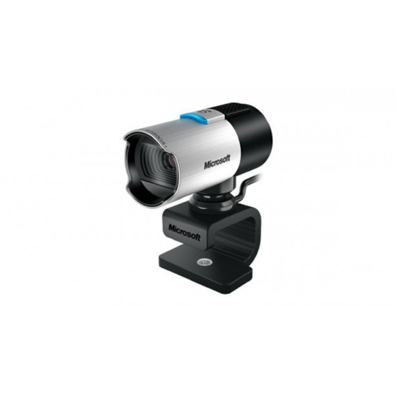 webcam Microsoft LifeCam Studio Noir / Argent, Retail Vidéo: 1920 pixels Photo: 1080 pixels 1x USB