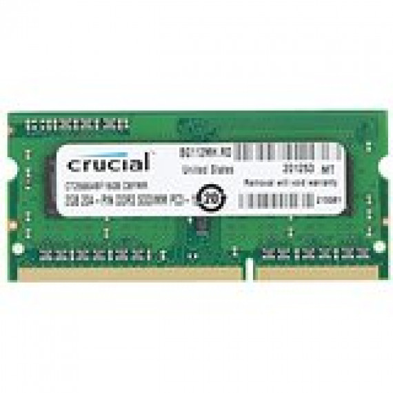 CRUCIAL SO-DIMM 2 GB DDR3-1600 CT25664BF160BJ