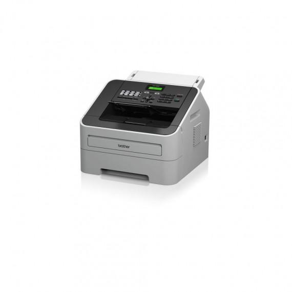 FAX Brother FAX-2940 gris / noir, USB, impression, copie, fonction scan, Retail 2400x600 Pixel A4, A5, A6, B6, exécutif 1x USB 2.0, téléphone 1x / fax