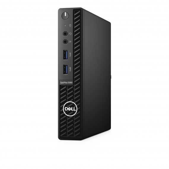 DELL FR/BTS/Opti 3080 MFF/Core i3-10100T/8GB/128GB SSD/Intel UHD 630/TPM/WLAN + BT/Kb/Mouse/W10Pro/1Y Basic Onsite