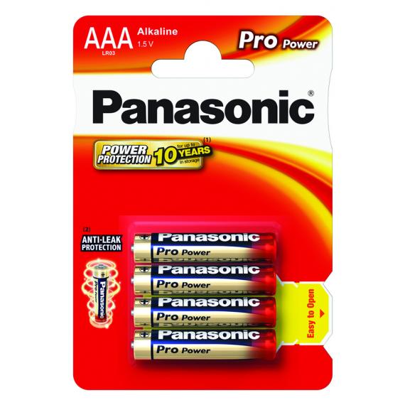 Panasonic PRO POWER AAA LR03 x4