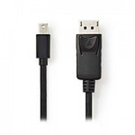 Nedis Câble Mini DisplayPort vers DisplayPort Mini DisplayPort Mâle - DisplayPort Mâle 1,0 m Noir