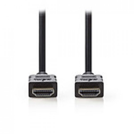 Nedis Nedis Câble HDMI haute vitesse avec Ethernet Noir (2 mètres)