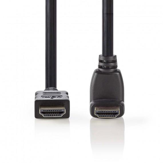 Nedis Nedis Câble HDMI coudé à 270° haute vitesse avec Ethernet Noir (1.5 mètre)