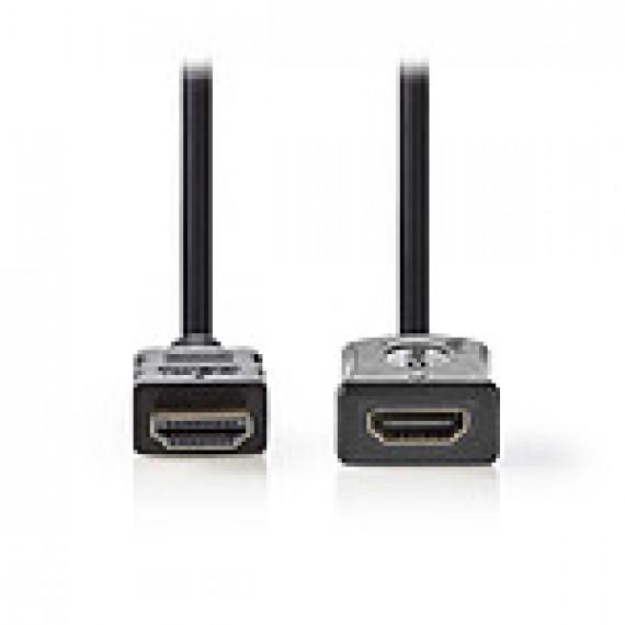 Nedis Nedis Rallonge HDMI haute vitesse avec Ethernet Noir (2 mètres)