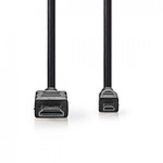 Nedis Nedis Câble Micro HDMI mâle / HDMI mâle haute vitesse avec Ethernet Noir (2 mètres)