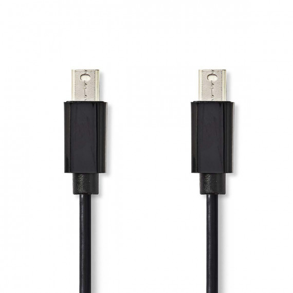 Nedis Câble Mini DisplayPort Mini DisplayPort Mâle - Mini DisplayPort Mâle 2,0 m Noir