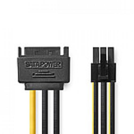Nedis Nedis Adaptateur d'alimentation SATA vers PCI-E 6 Broches