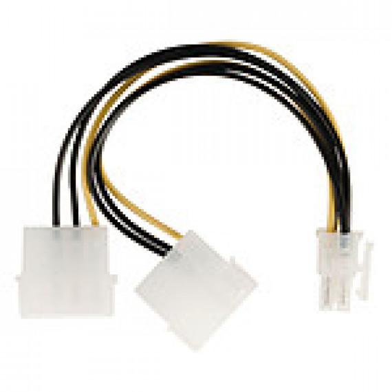 Nedis Nedis Adaptateur d'alimentation 2x Molex vers PCI-E 6 Broches