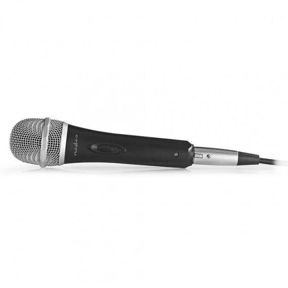 Nedis Nedis Microphone Filaire Plastique/Aluminium