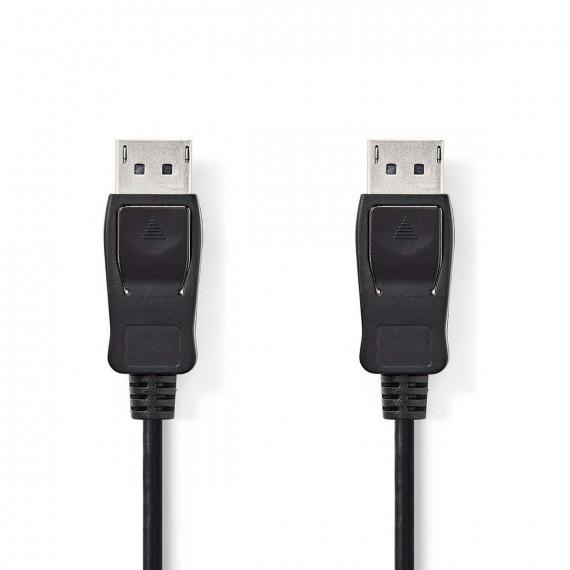 Nedis Câble 1.2 DisplayPort DisplayPort Mâle - DisplayPort Mâle 3,0 m Noir
