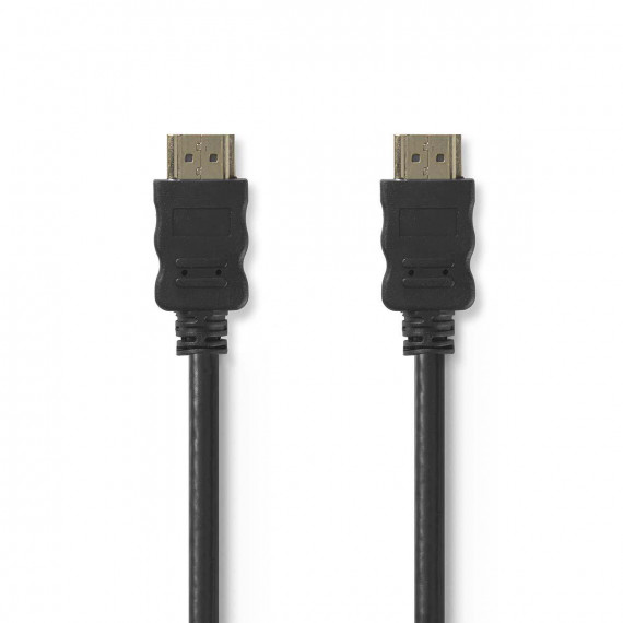 Nedis Câble HDMI™ Haute Vitesse avec Ethernet Connecteur HDMI - Connecteur HDMI 2,0 m Noir