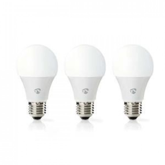 Nedis Lot de 3 ampoules LED intelligentes WiFi