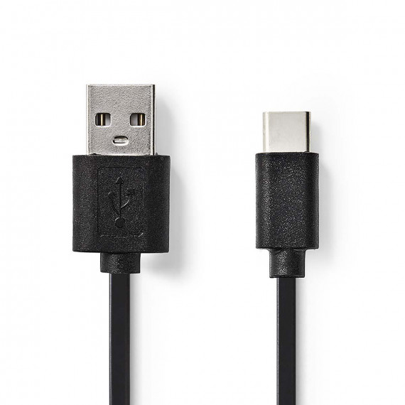 Nedis Câble USB 2.0 Type-C Mâle - A Mâle 3,0 m Noir