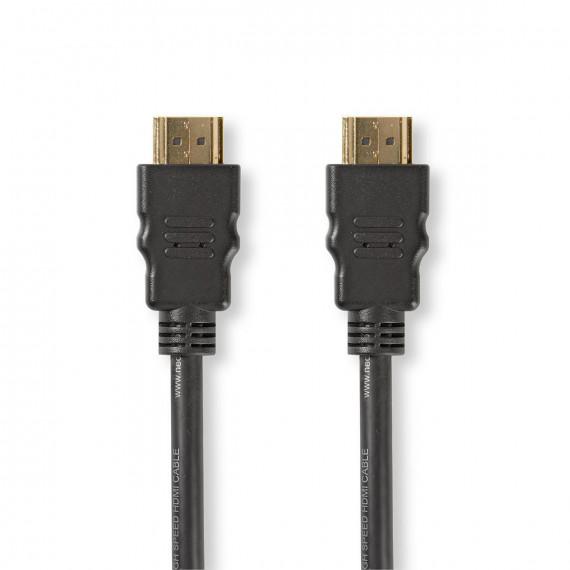 Nedis Câble HDMI™ Haute Vitesse avec Ethernet Connecteur HDMI™ vers Connecteur HDMI™ 1,5 m Noir
