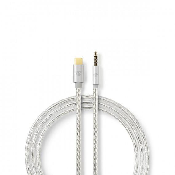 Nedis Nedis Câble USB-C vers mini-jack 3,5 mm (1 m)