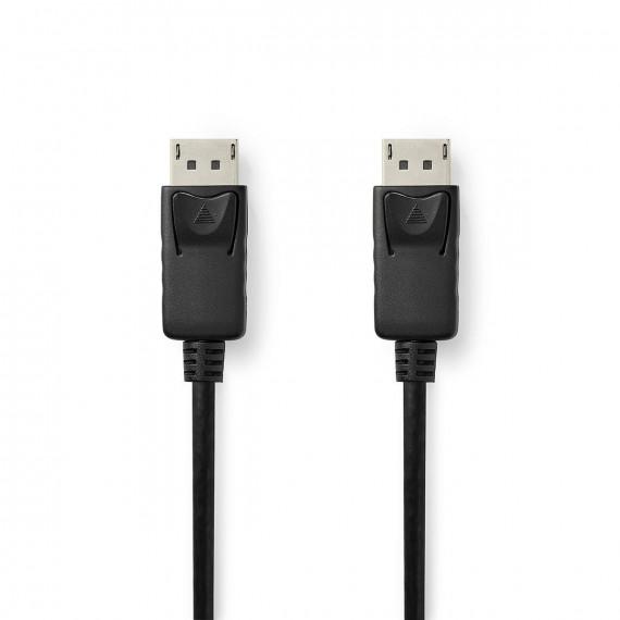 Nedis Câble DisplayPort 1.4 DisplayPort Mâle vers DisplayPort Mâle 2,00 m Noir
