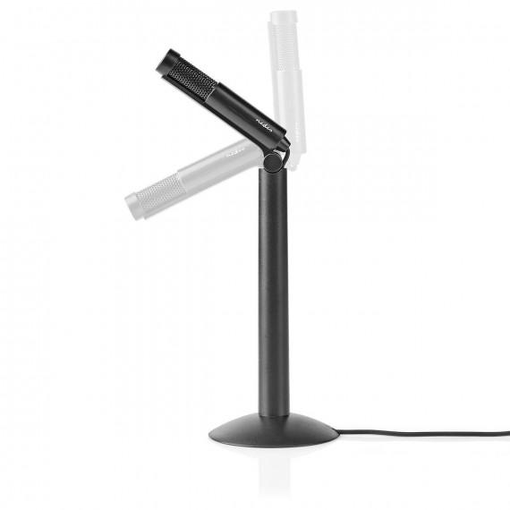 Nedis Nedis Microphone filaire trépied angle réglable 3,5 mm