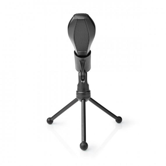Nedis Nedis Microphone filaire double condensateur Tripod USB