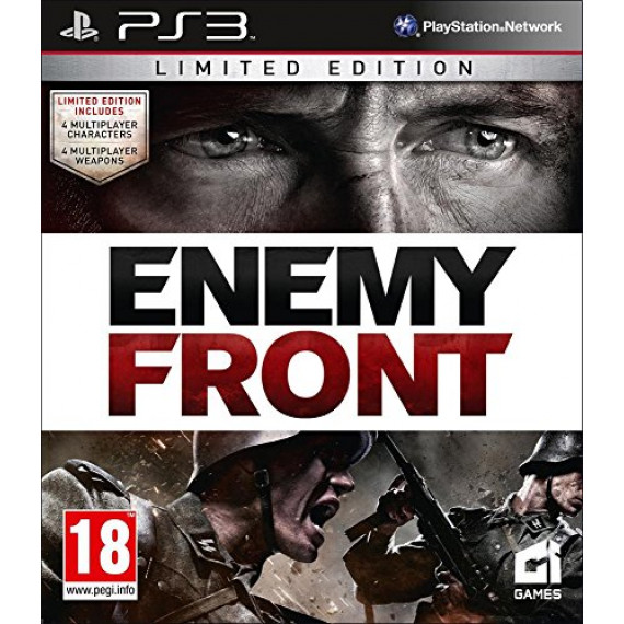 Square Enix Enemy Front - Limited Edition (PS3)