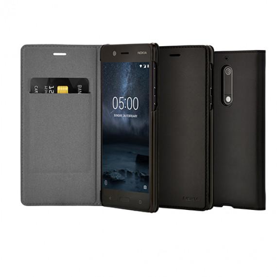 Nokia Etui Folio Noir CP-302 5