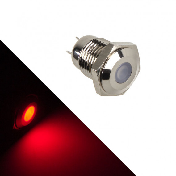 Lamptron Vandalisme soutenu par LED - rouge