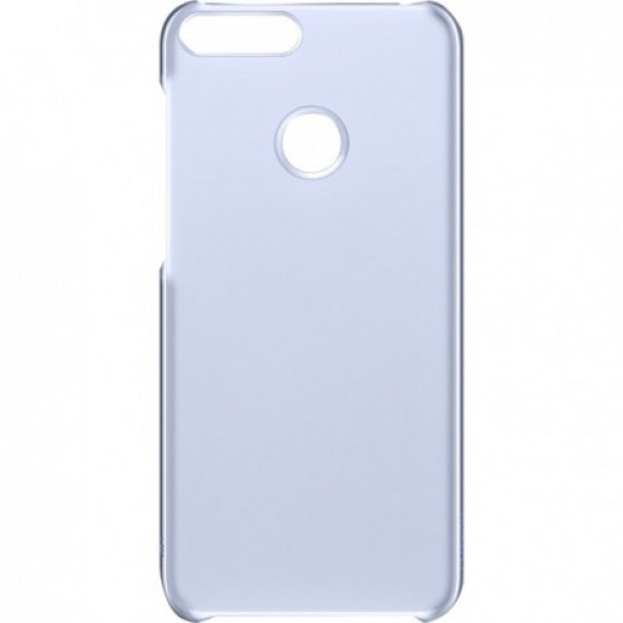 Huawei Coque Transparente/Bleue P Smart