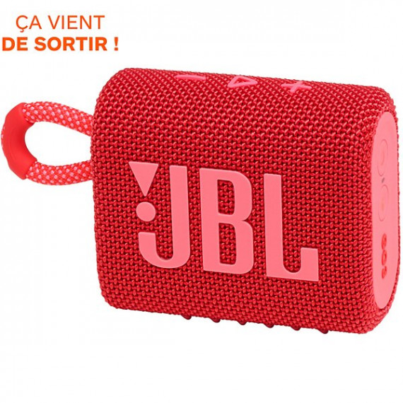 JBL Enceinte Bluetooth  Go 3 Rouge