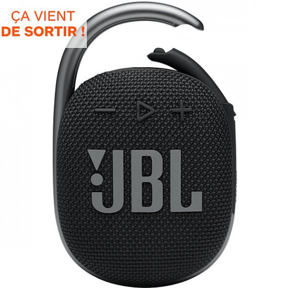 JBL Enceinte Bluetooth  Clip 4 Noir
