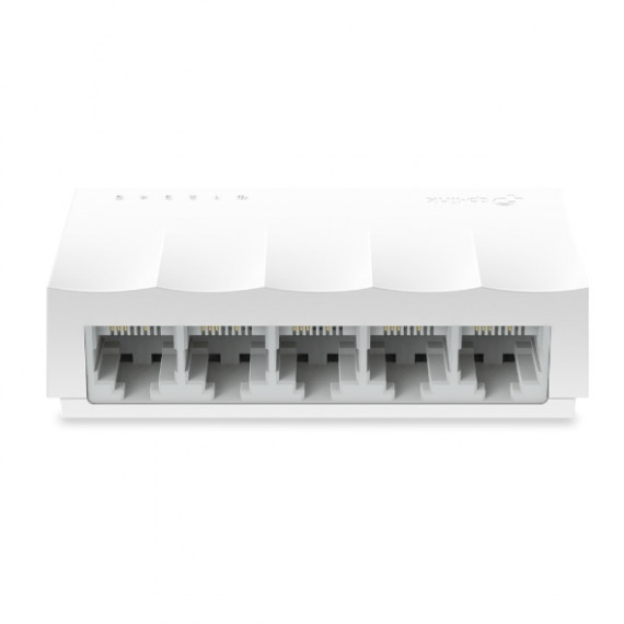 TPLINK LiteWave 5-Port 10/100M Desktop  LiteWave 5-Port 10/100M Desktop Switch 5 10/100M RJ45 Ports Desktop Plastic Case