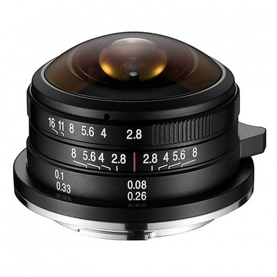 Laowa 4mm f/2.8 Fisheye Micro 4/3